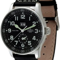 Zeno-Watch Basel X-Large Pilot Big Date + Dual-Time