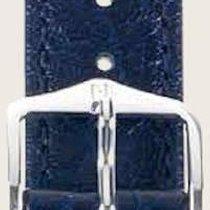 Hirsch Uhrenarmband Leder Highland blau L 04302080-2-24 24mm