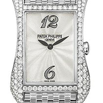 Patek Philippe Ladies Gondolo Serata White Gold , Mother of