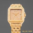 Cartier Panthere 18K Gold & Diamonds  Cartier BOX &...