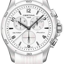 Certina DS First Lady Keramik Chrono Damenuhr C030.217.17.017.00