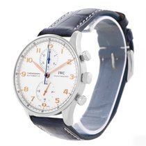 IWC Portuguese Chrono Automatic Stainless Steel Mens Watch...