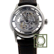 Oris Artelier Skeleton 40.5mm crocodile strap NEW