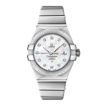 Omega Constellation  Stainless Steel Ladies watch 123.10.31.20...