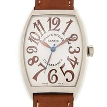 Franck Muller Cintree Curvex Stainless Steel White Automatic...