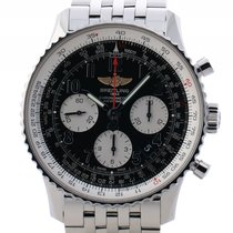 Breitling Navitimer 01 Stahl Automatik Chronograph 43mm Stahlband
