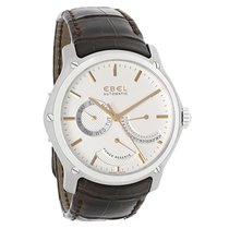 Ebel Classic Hexagon Mens Brown Swiss Automatic Watch 9303F61/...