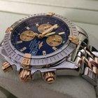 Breitling Chronomat Evolution Pilot Gold Steel Bleu Dial 44 mm...
