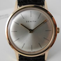 Zenith extra plat manual movement gold plated