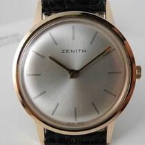 제니트 (Zenith) extra plat manual movement gold plated