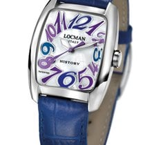 Locman History 488N00MWNCO2PSB Pearl Blue Quartz Ladies