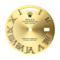 Rolex Day-Date 41mm Gold/Diamond Numerals Custom Dial