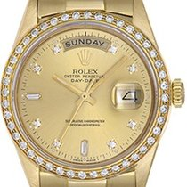 Ρολεξ (Rolex) Diamond President Day-Date 18k Yellow Gold...