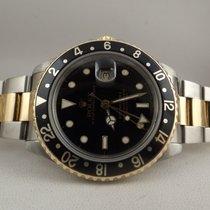 Rolex GMT master II ref. 16713 ser. N 1992 acciaio oro