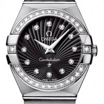 Omega Constellation Ladies Diamond Quartz 27