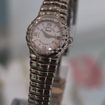 Piaget --- Tanagra 18k White Gold Ladies Watch Diamond Bezel