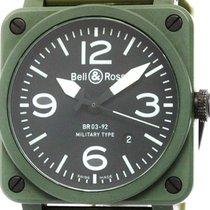 ベルアンドロス (Bell & Ross) Military Ceramic Rubber Automatic...
