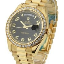 Rolex Unworn 218348 Day-Date II President inYellow Gold -...
