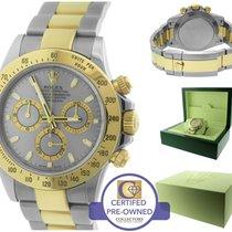 Rolex Daytona Cosmograph 116523 Slate Gray 40mm Two Tone Watch