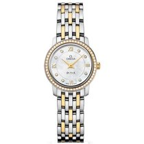 Omega 424.25.24.60.55.001 De Ville Prestige Co-Axial 24.4mm in...