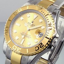 Rolex Yachtmaster 168623 Steel Gold 35 Mm Midsize Two Tone...