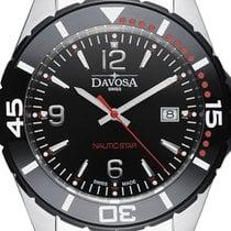 Davosa Swiss Nautic Star 16347265 Diver Men Wrist Watch...