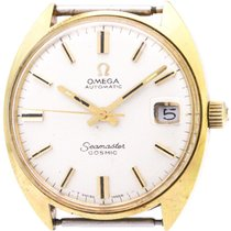 Omega Seamaster Cosmic Gold Plated Automatic Watch 166.023...