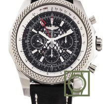 Breitling Bentley 04 Chronograph GMT 49mm Black Ebony Dial NEW