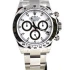 Rolex Daytona Cosmograph Stainless Steel white 116520 100% NEW