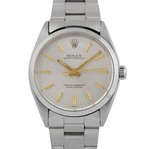 Rolex Oyster Perpetual  Steel with Silver Dial, 1002