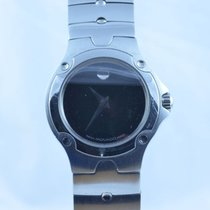 Movado Museum Damen Watch Uhr Rar Stahl Top Quartz 25mm Mit...
