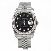 勞力士 (Rolex) Oyster Perpetual White Gold And Steel Black...