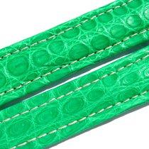 Breitling Band 20mm Croco Green Verde Grün Strap Ib013