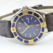 Maurice Lacroix Classic Herren Uhr Stahl Vergoldet Quartz 34mm...