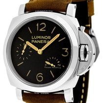 パネライ (Panerai) PAM00423 Luminor 1950 Power Reserve Black Dial...