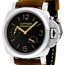 Panerai PAM00423 Luminor 1950 Power Reserve Black Dial...