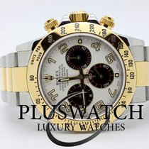 Rolex Daytona Steel Gold Oro Acciaio Panda Dial JUST SERVICED...