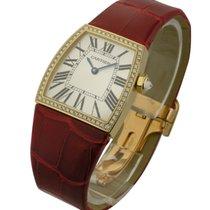 Cartier WE600251 La Dona de 28mm in Yellow Gold with Diamond...