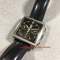 TAG Heuer CW2111-0 Monaco Steel Chrono with date 38mm Watch only