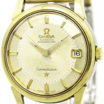 Vintage Constellation Date Pie Pan Dial Cal 561 Gold Plated...