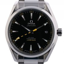 Omega Seamaster Aqua Terra 15.000 Gauss 150 M Co-Axial Stahl...