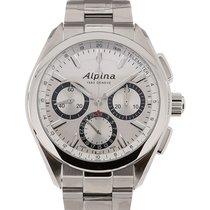 Alpina Alpiner 4 44 Chronograph Silver Dial
