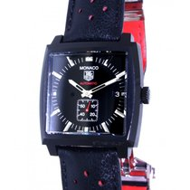 TAG Heuer Monaco Calibro 6 Ww2119 Black Pvd, 37mm