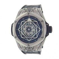 Hublot Big Bang Sang Bleu 415.NX.1112.VR.MXM16 Titanium Black...