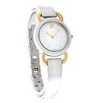 Movado Linio Ladies MOP Two Tone Bracelet Swiss Quartz Watch...