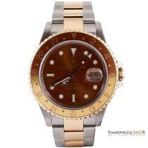 Rolex GMT Master II Steel and Gold 'Root Beer'
