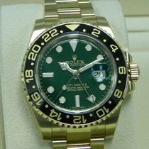 ロレックス (Rolex) GMT MASTER II Yellow Gold Green Dial