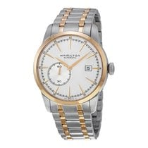 Hamilton Men's Railroad Small Second Silver Dial Watch