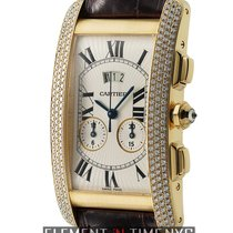 Cartier Tank Collection Tank Americaine Chronograph Diamond...