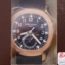 Patek Philippe New  Aquanaut 18k Rose Gold Brown Automatic...